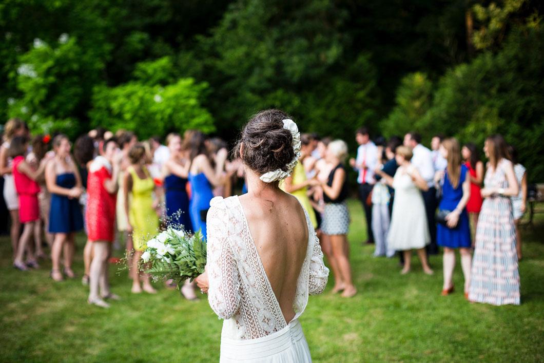 bröllopsfoto bruden