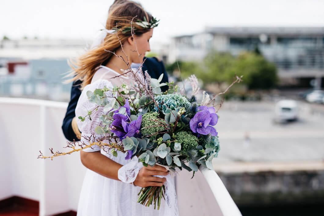 bröllopsfotografen in action