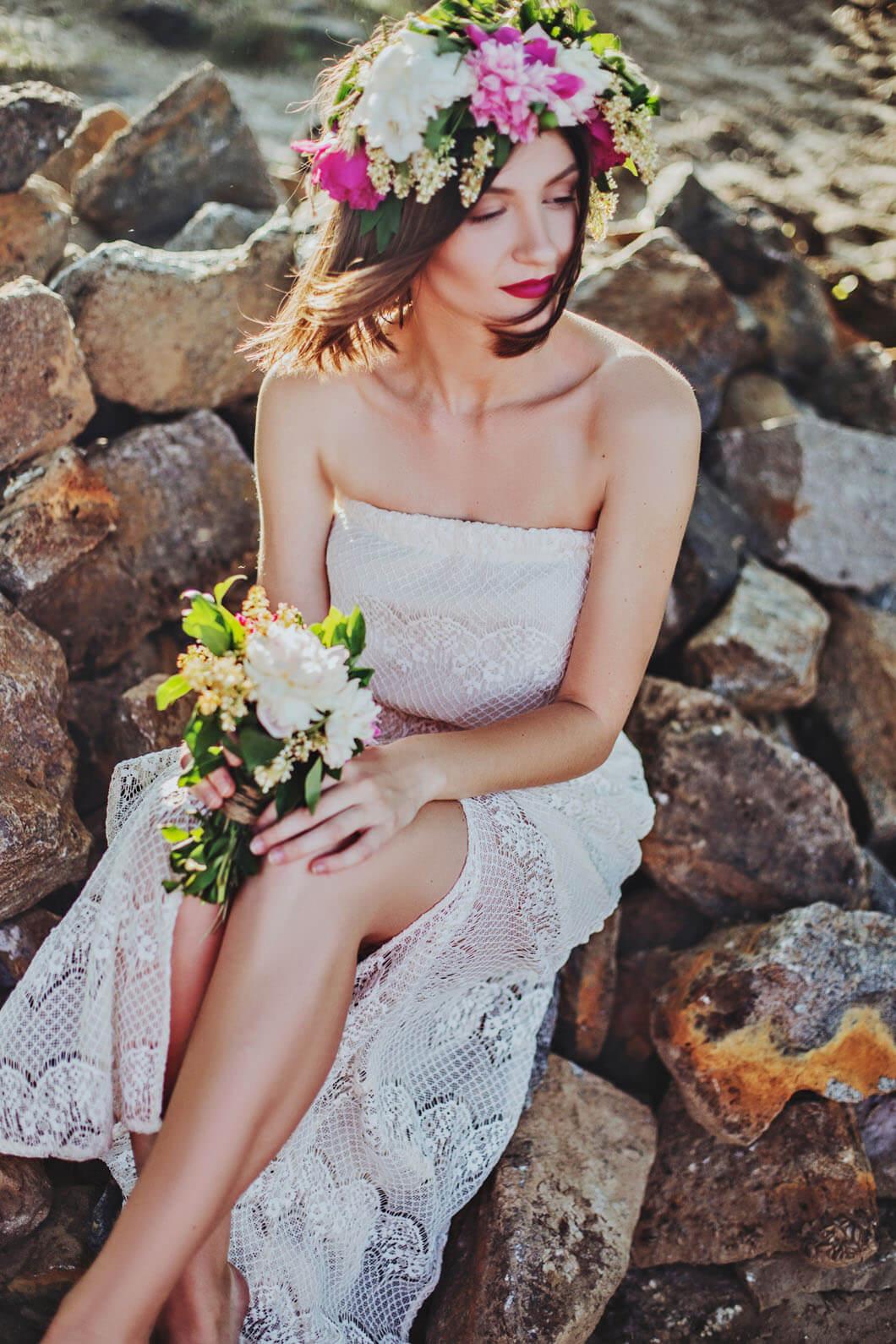 vacker brud