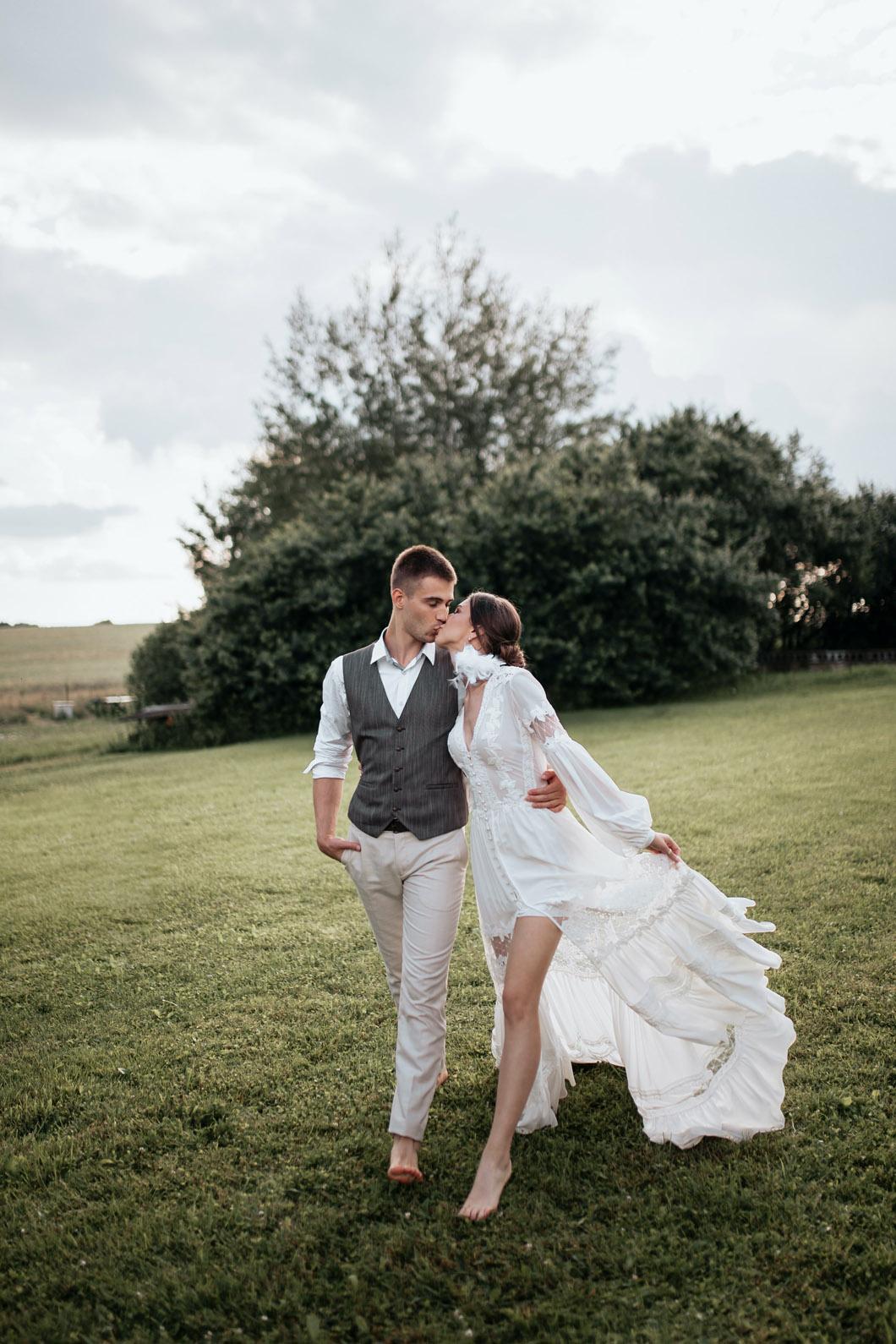 Bröllop fotografering Sundby Gård