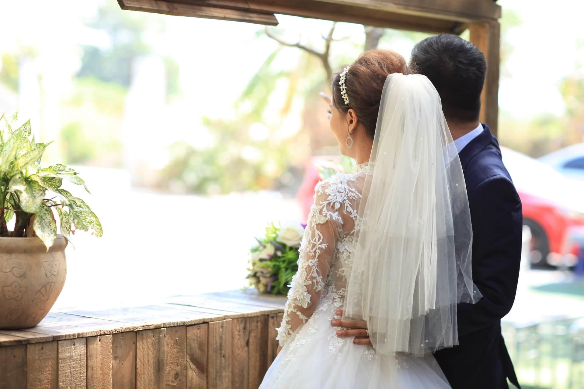 Bröllop på Fjärilshuset